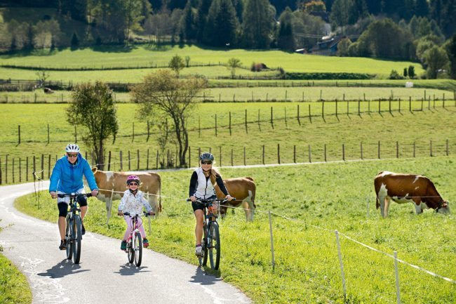 Biken - Sommerurlaub im Lungau, Salzburger Land