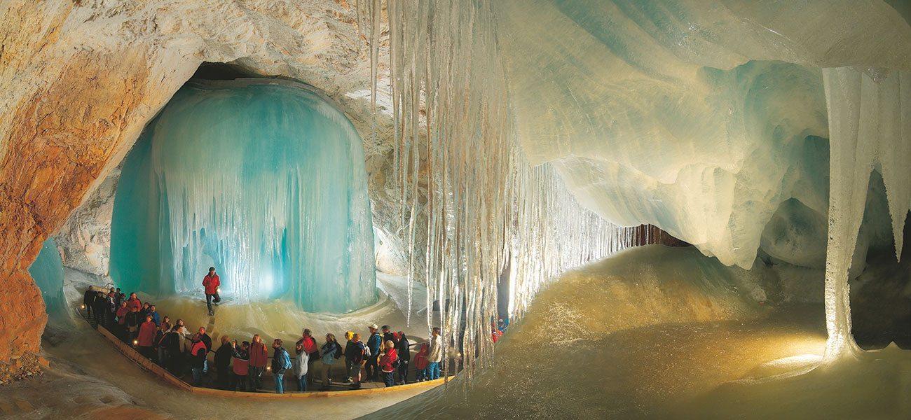 Eisriesenwelt Werfen - Ausflugsziel im Salzburger Land