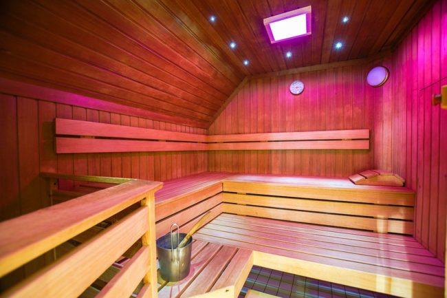 Sauna - Wellnesszeit im Hotel Neuwirt in Mauterndorf