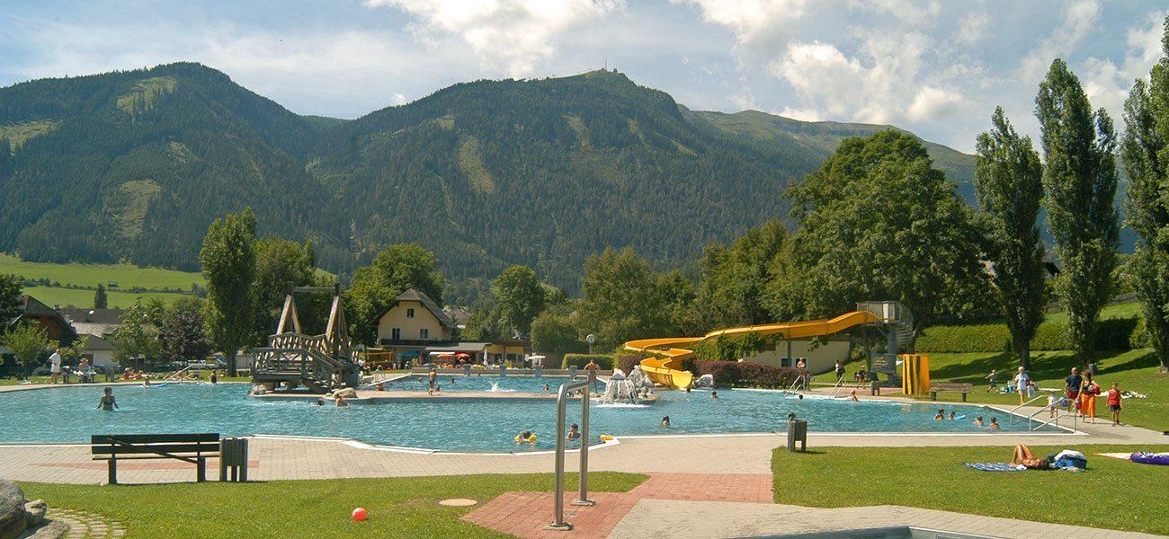 Schwimmbad Mauterndorf - Ausflugsziel im Salzburger Land