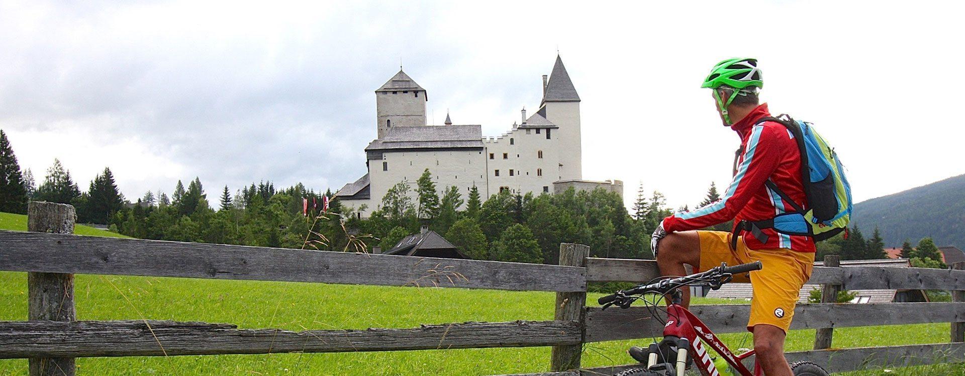 Biken im Sommerurlaub in Mauterndorf, Lungau