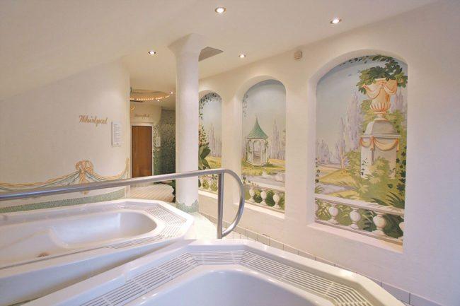 Whirlpool - Wellnesszeit im Hotel Neuwirt in Mauterndorf